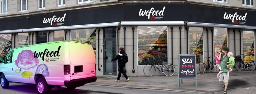 사회적 슈퍼마켓 'Wefood' 코펜하겐 개점