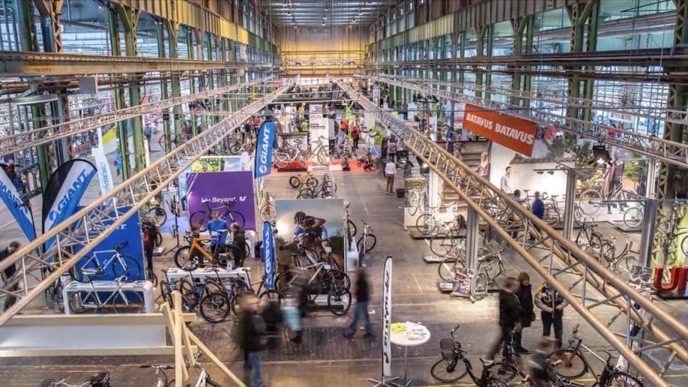 2015년 열린 코펜하겐 바이크 쇼 전경(홍보 영상 갈무리)
