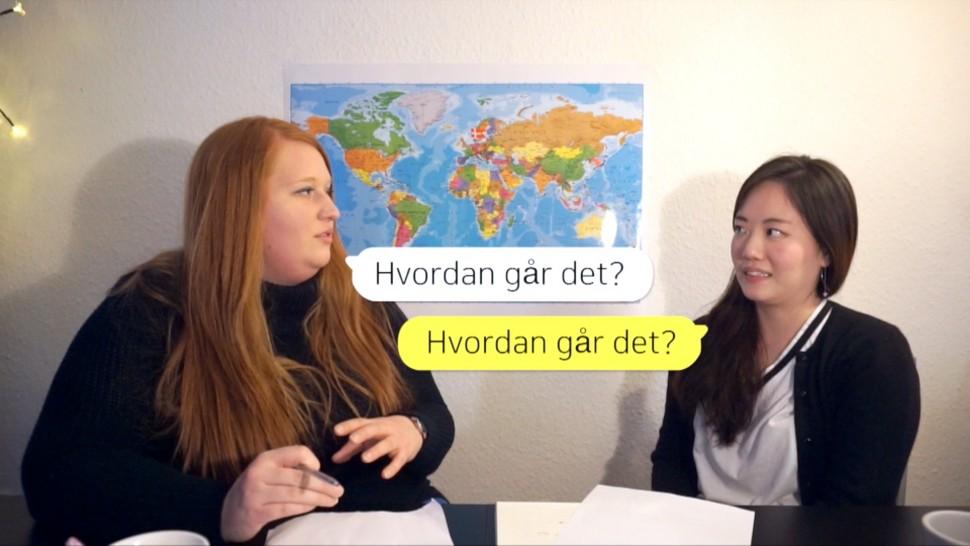 [덴마크어 배우기] 4강 잘 지냈어요?