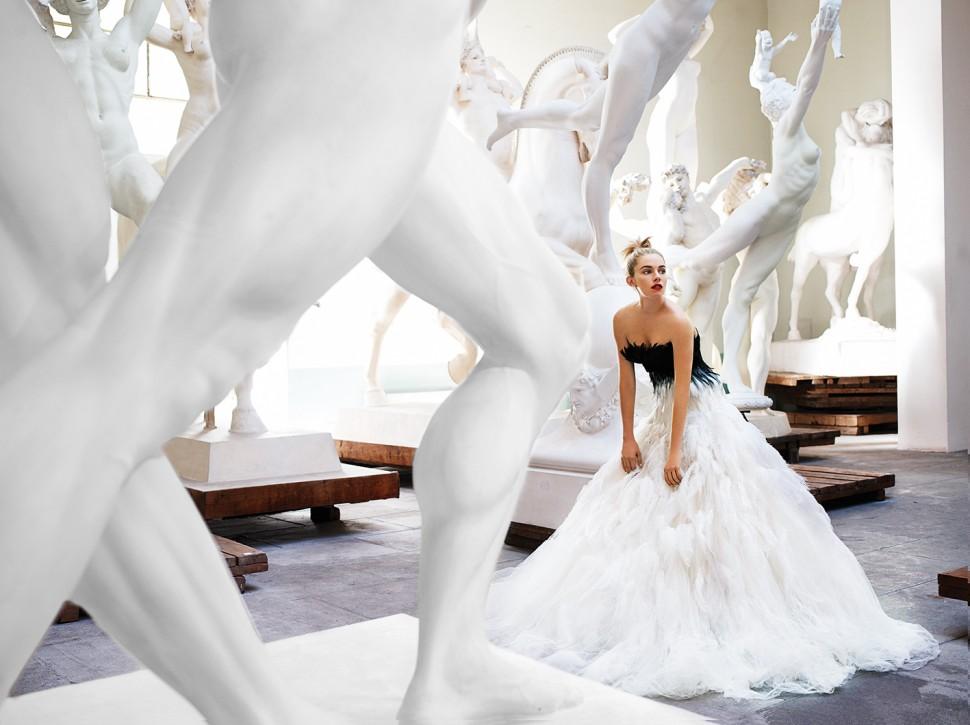 마리오 테스티노가 시에나 밀러를 모델로 로마에서 찍은 사진. 2007년 에 실렸다 (GL스트랜드 제공)