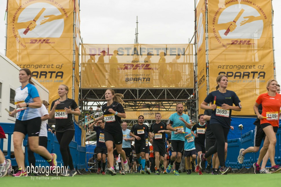 DHL Relay Race 2015 by Matthew James (DHL relay Copenhagen 제공)