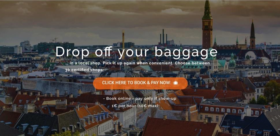 덴마크 여행, 짐 맡기고 빈손으로 다니세요