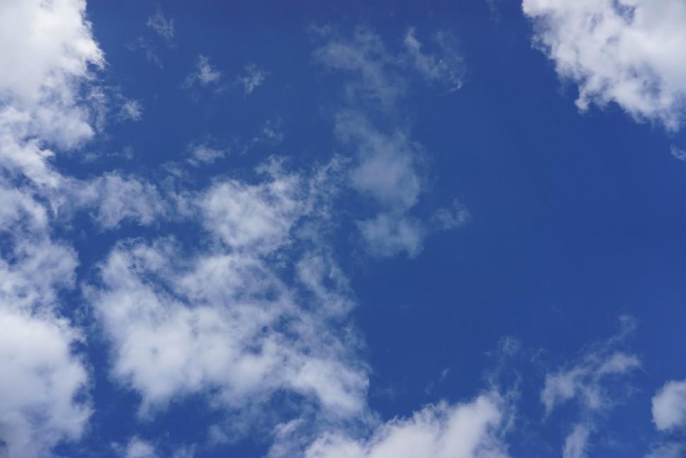 구름 낀 덴마크 하늘 (사진: 안상욱)