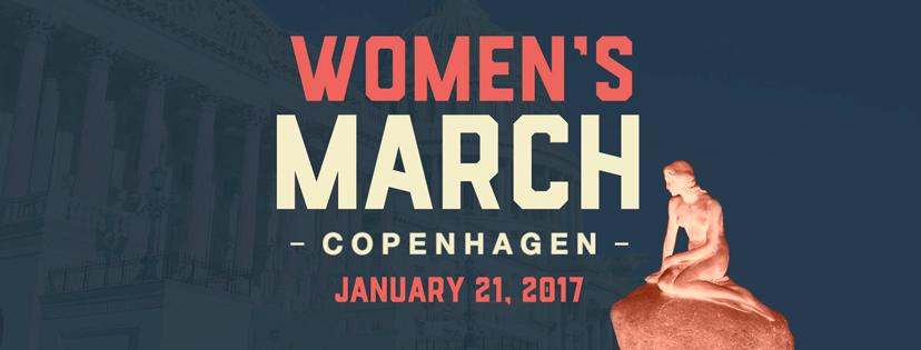 토요일 코펜하겐 시내에서 '여성 인권 행진' 열려