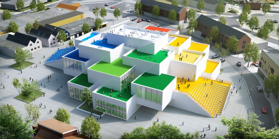 2017년 10월 개관할 레고의 새 본사 건물 레고하우스 상상도 (레고 제공)