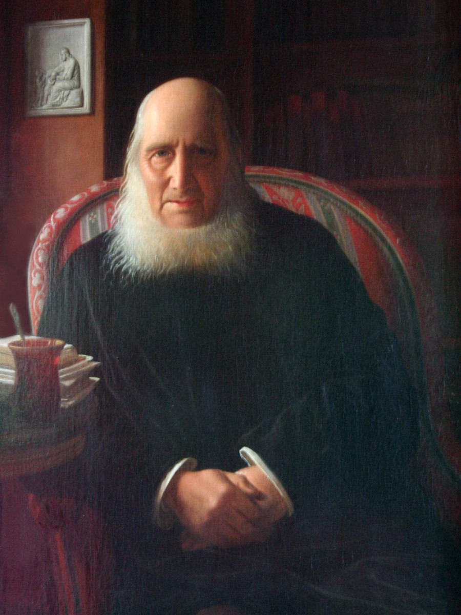 Nikolaj Frederik Severin Grundtvig by Constantin Hansen (출처: 위키미디어커먼즈 CC PD)