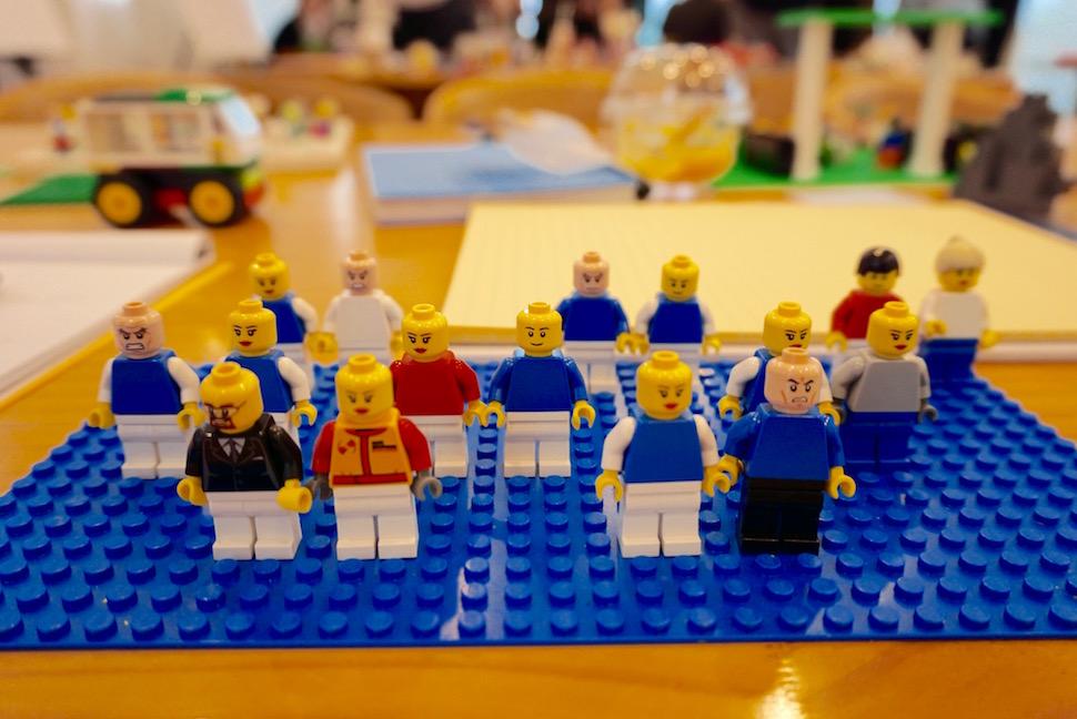 레고 피규어 (사진: 안상욱)