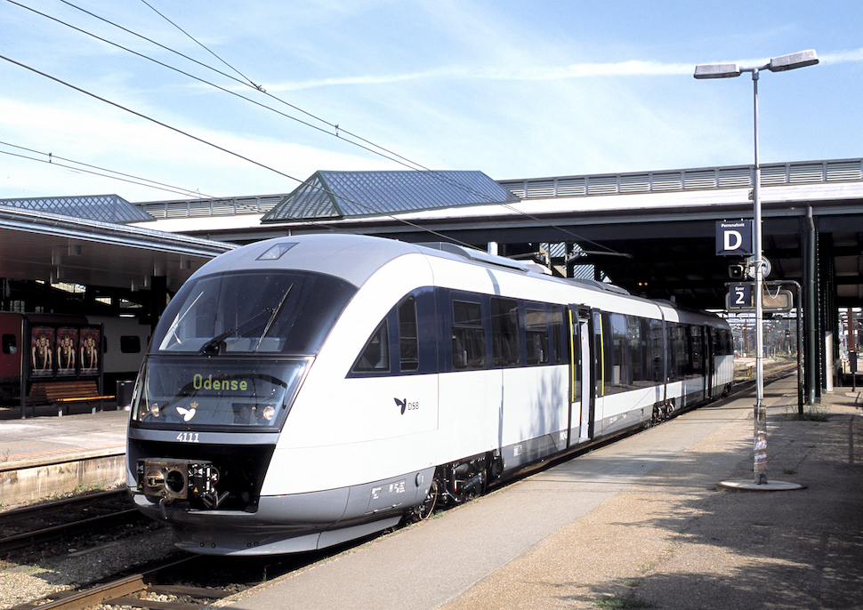 덴마크 기차 (DSB 제공, René Strandbygaard 촬영)