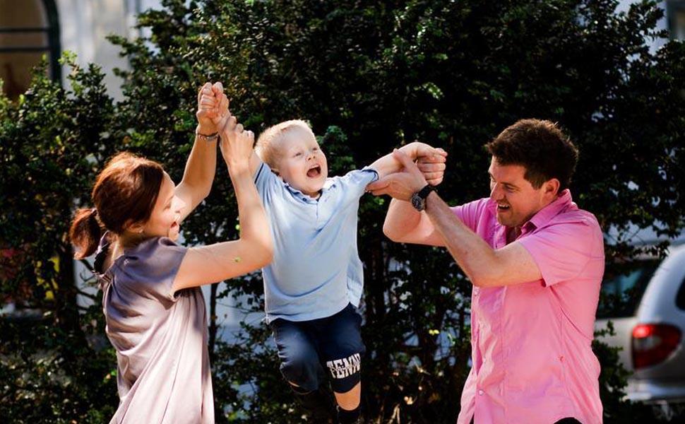 아이와 노는 덴마크 부모(코펜하겐관광청 제공)