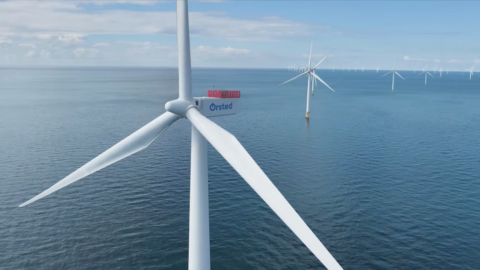 덴마크 최대 발전사 외르스테드의 해상 풍력 발전단지 (외르스테드 제공)