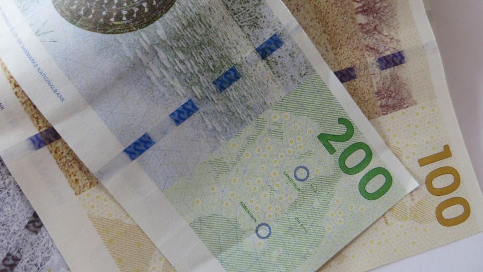 덴마크 지폐 (출처: 플리커 CC BY-SA Howard Lake)