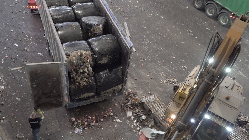 코펜하겐 친환경 열병합 발전소 아마게르 바케(Amager Bakke) 폐기물 집하장(촬영: 남가연)