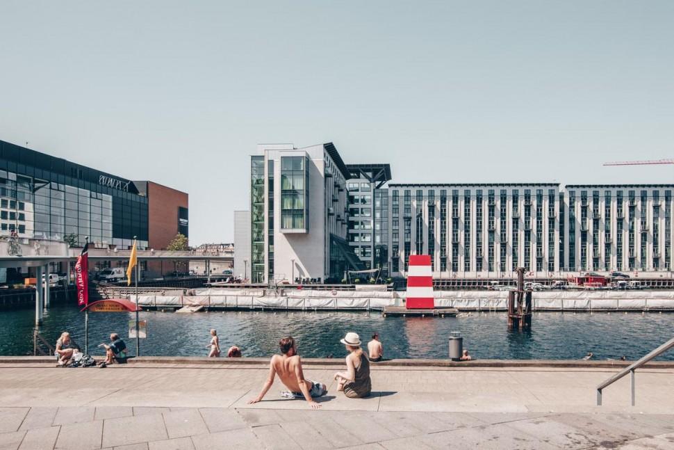 도심 해수욕장 Fisketorvet (Astrid Maria Rasmussen 촬영, 코펜하겐관광청 제공)