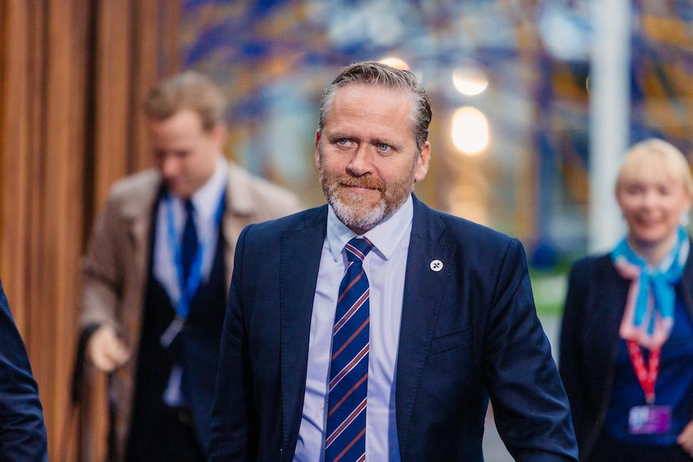 안데르스 사무엘센 덴마크 외무부 장관(출처: 위키미디어커먼즈 CC BY Arno Mikkor)