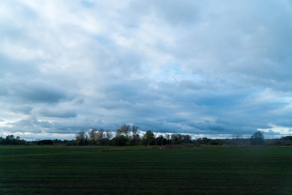 구름 낀 덴마크 하늘(안상욱 촬영)