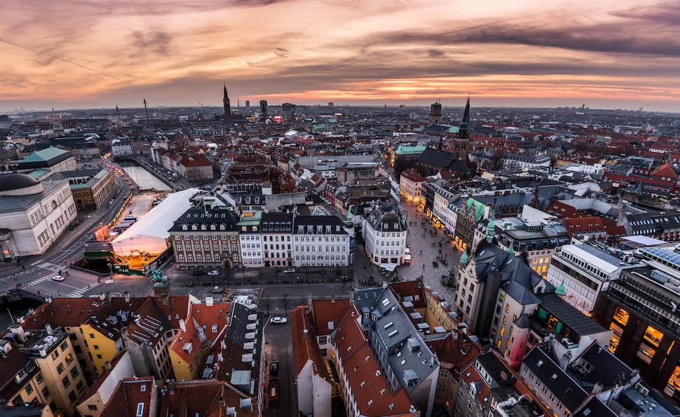 코펜하겐 전경(코펜하겐관광청 제공)