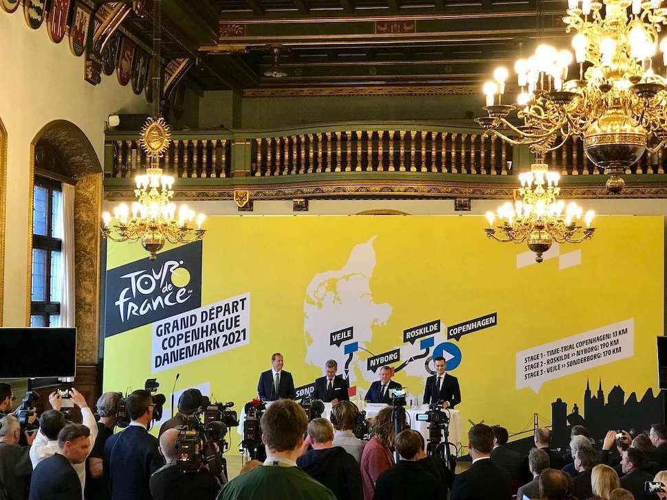 덴마크, 최고 자전거 대회 '투르 드 프랑스' 유치 성공