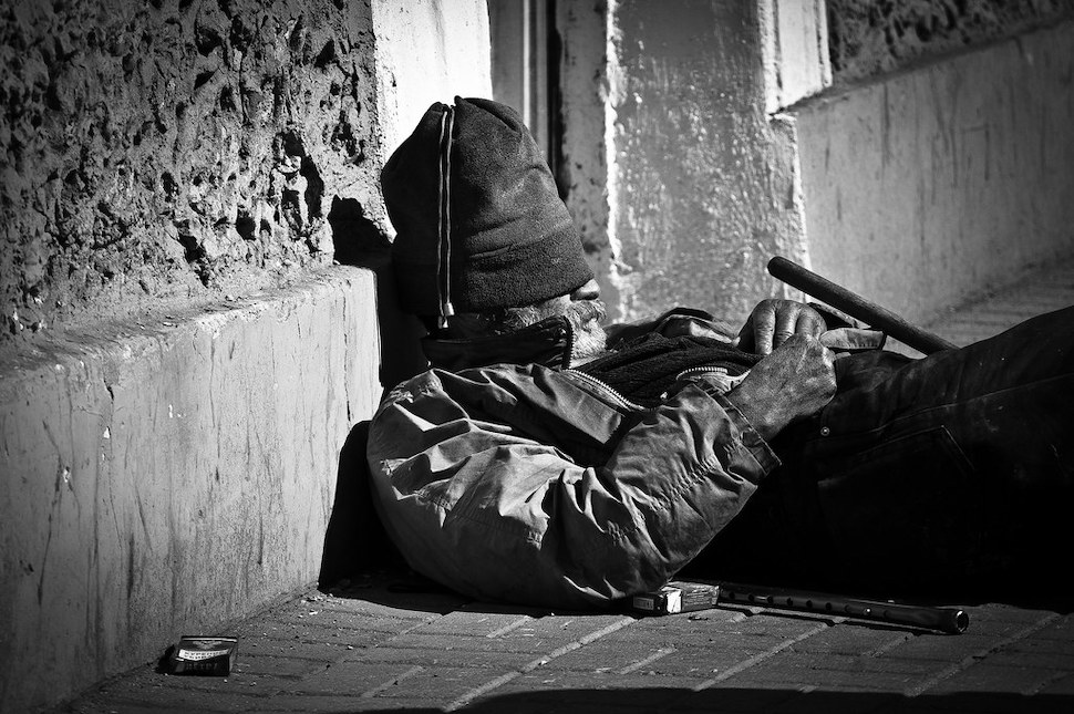 Homeless in St. Petersburg (출처: 플리커 CC BY Andrew Kudrin)