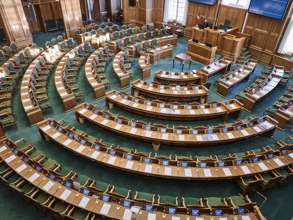 덴마크 국회의사당(덴마크 국회 제공)