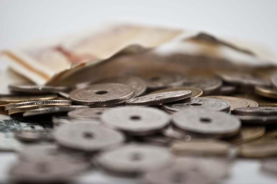 덴마크 동전과 지폐(출처: 덴마크 경영인연합회)