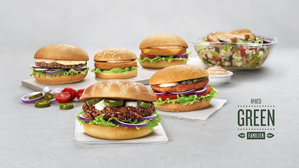 스웨덴 버거 프랜차이즈 막스 버거(Max Burger) 채식 제품군