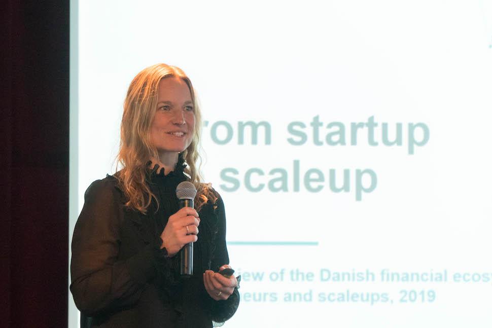 디테 몬쿠르(Ditte Rude Moncur) 덴마크 국영투자기금(Vækstfonden) 최고데이터디지털이사 (안상욱 촬영)