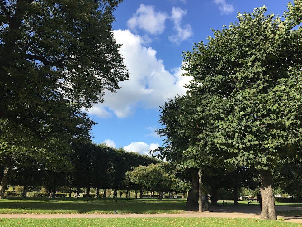 코펜하겐 왕의 정원(Kongens Have) (안상욱 촬영)