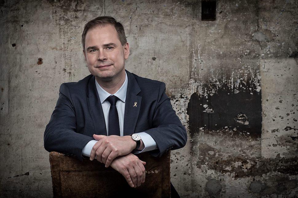 니콜라이 바멘(Nicolai Wammen) 덴마크 재무부 장관