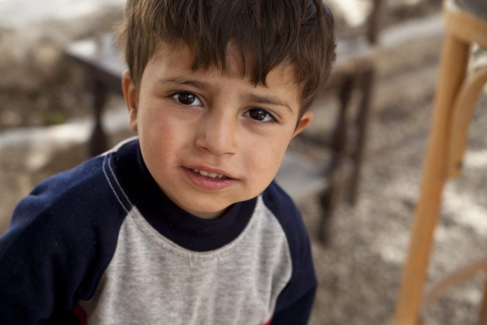 시리아 난민 아동(출처: 플리커 CC BY MaximilianV)